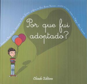 Capa Livro Rosa Varela - Por que fui adoptado